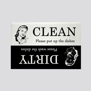 Dirty / Clean Dishwasher Rectangle Magnet
